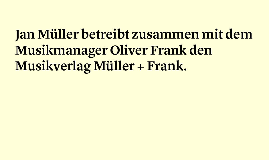 Faktum 78: Müller, Frank und Tocotronic