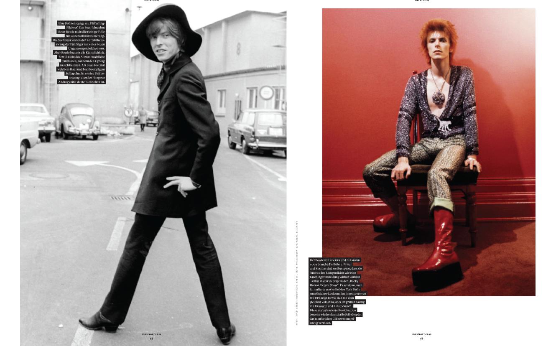 Portfolio: Stilikone David Bowie