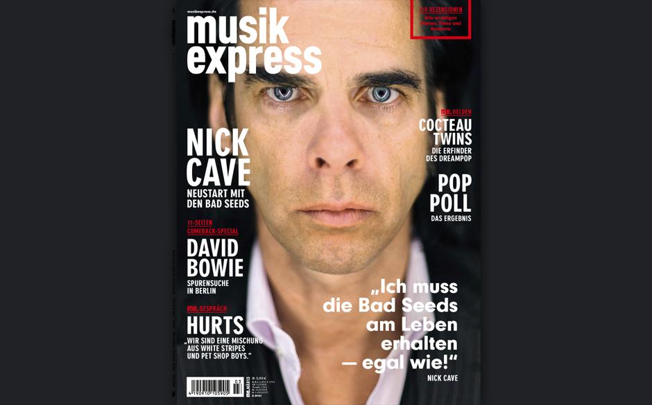 Jetzt am Kiosk: die März-Ausgabe des Musikexpress