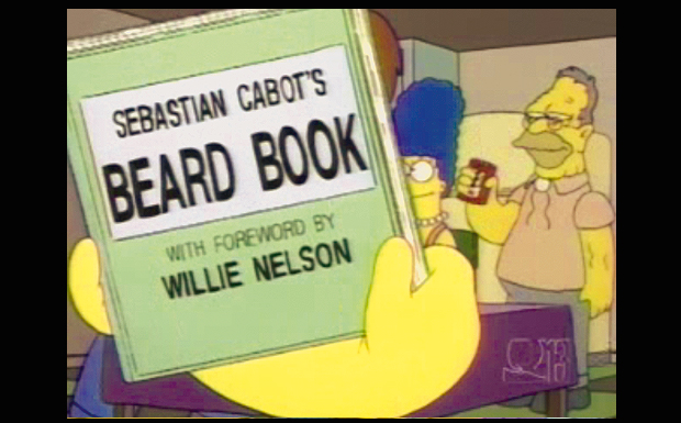 'Sebastian Cabot's Beard Book - with foreword by Willie Nelson'