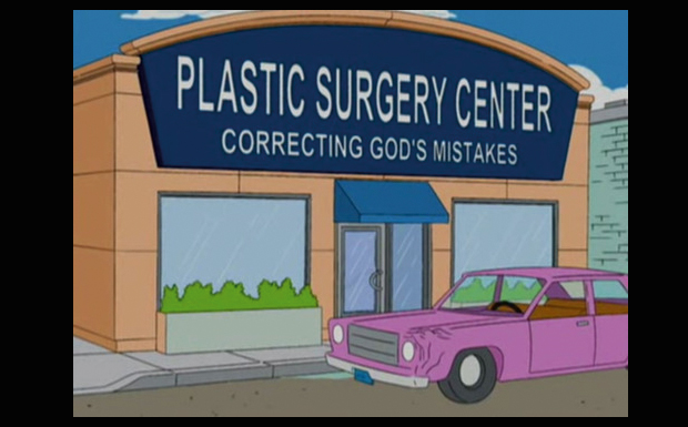 'Plastic Surgery Center - correcting God's Mistakes'