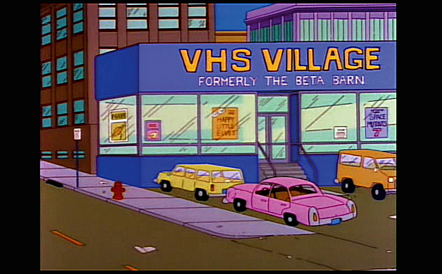 'VHS Village - formerly the Beta Barn'