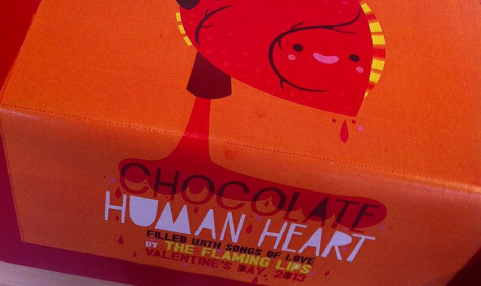 Limitierte Version der Schokoladenbox.