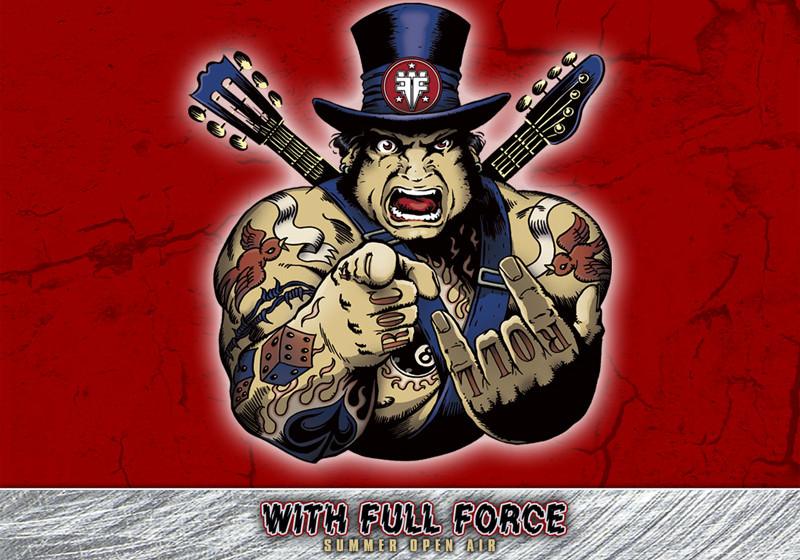 Das With Full Force-Logo von 2011