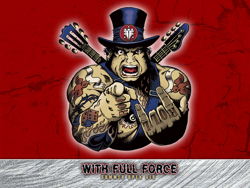 Das With Full Force-Logo von 2011