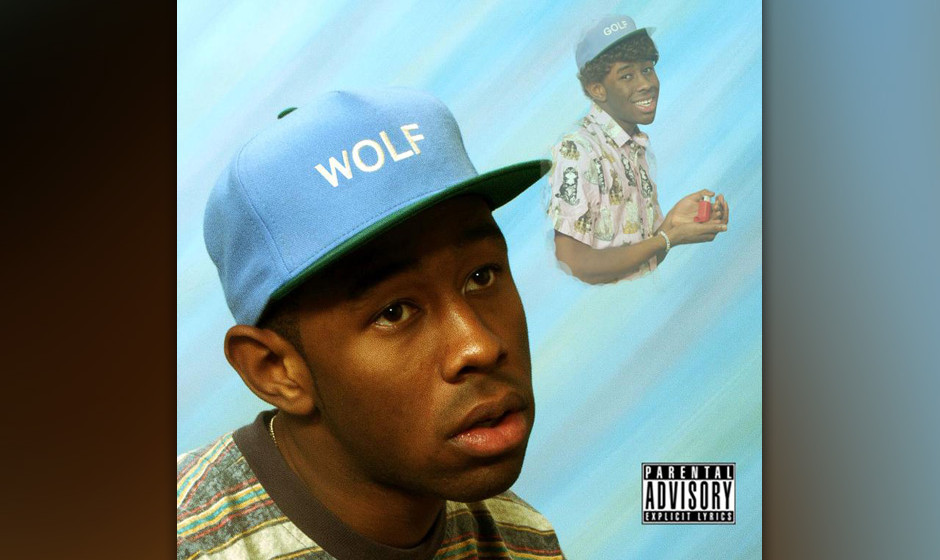 Tyler The Creators WOLF-Cover, Version 1
