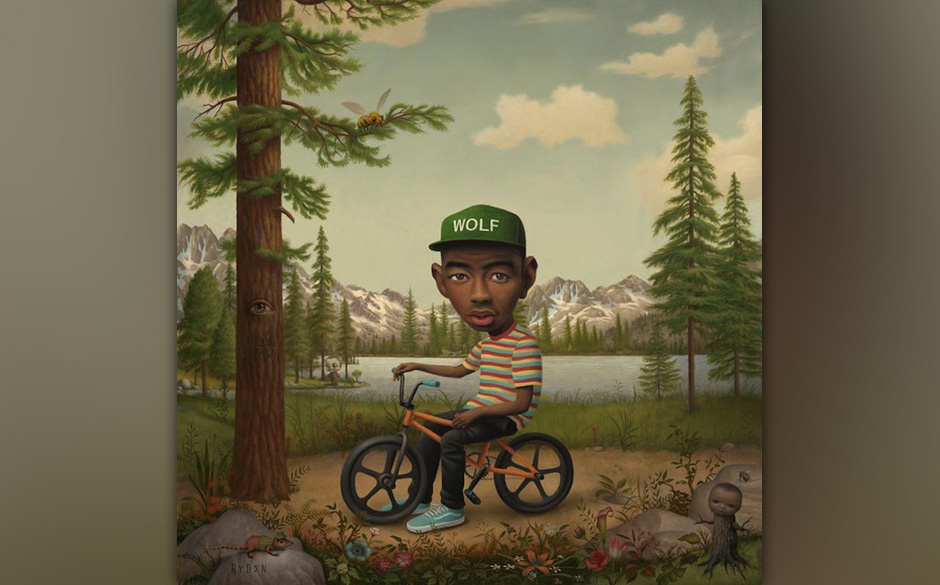 Tyler The Creators WOLF-Cover, Version 2