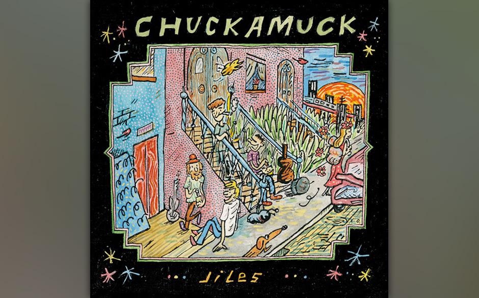 Und so sieht JILES von Chuckamuck aus. Erscheinen soll das Album am 19. April 2013.