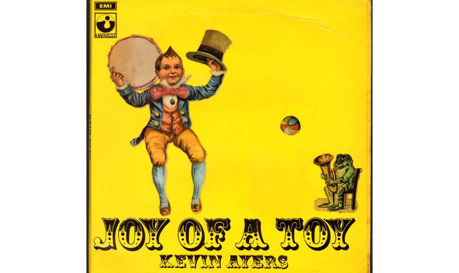 Das Cover seines Solodebüts: JOY OF A TOY von Kevin Ayers