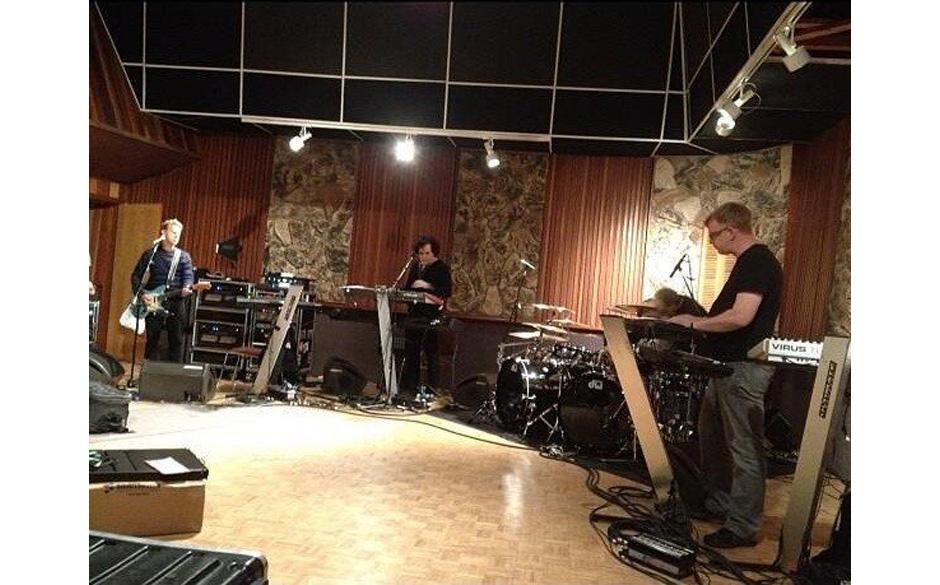 Depeche Mode bei den Proben