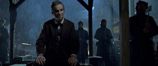 Unser 'Bester Hauptdarsteller': Daniel Day-Lewis in 'Lincoln'. Jedoch gleich auf mit...
