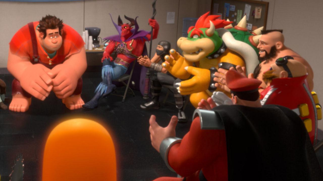 Unser 'Bester Animationsfilm': 'Ralph Reicht's' mit seinen ausrangierten Videospielhelden, und...