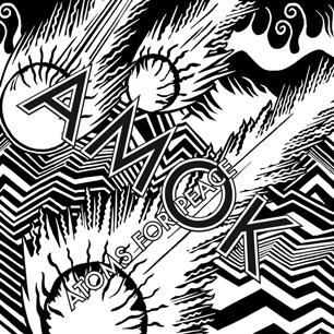 So sieht es aus: AMOK, das Debütalbum von Atoms For Peace