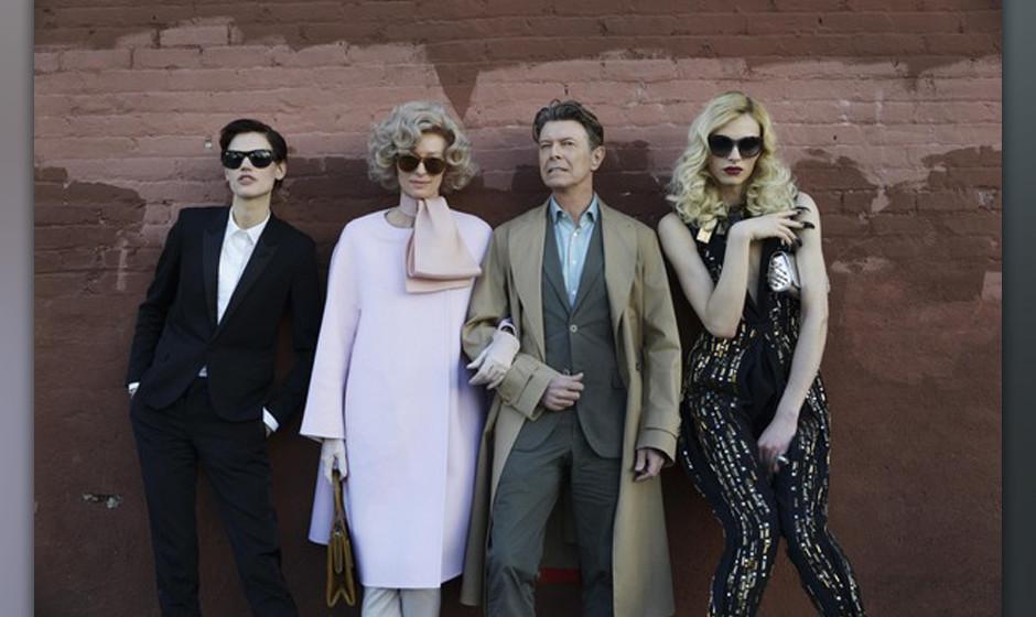 Der Cast des Bowie Videos