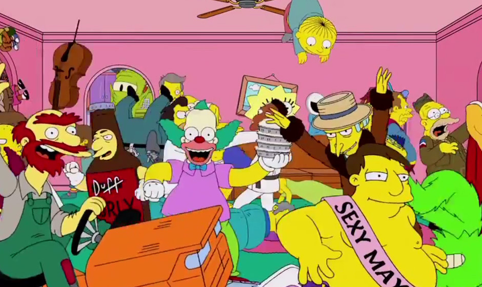 ... und dann halb Springfield.
