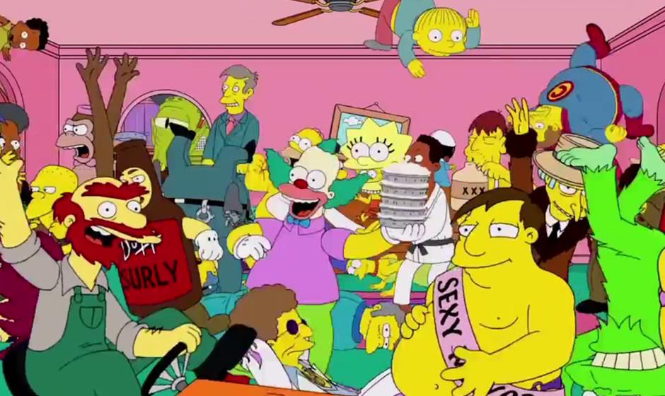 Baauer bei den Simpsons: Sein YouTube-Hit 'Harlem Shake' hat es bis nach Springfield geschafft.