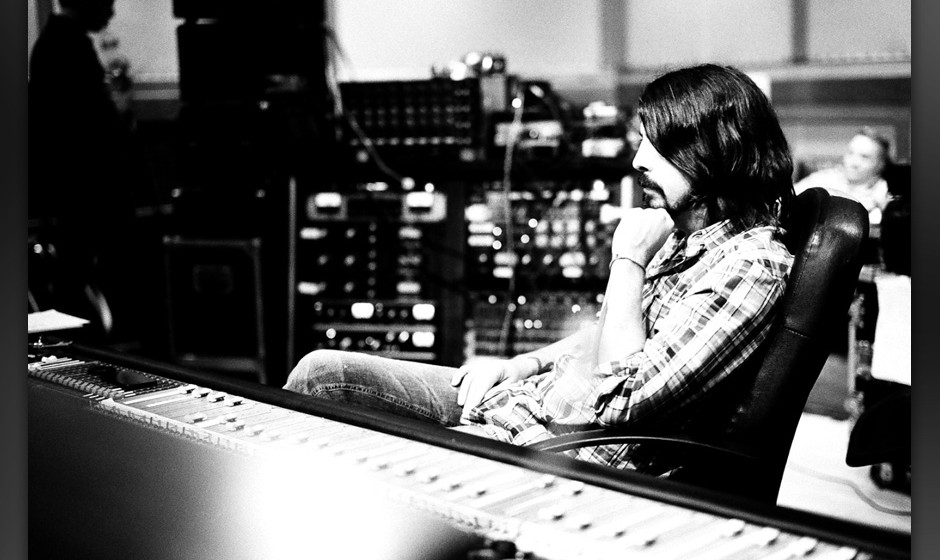Dave Grohl in den 'Sound City'-Studios
