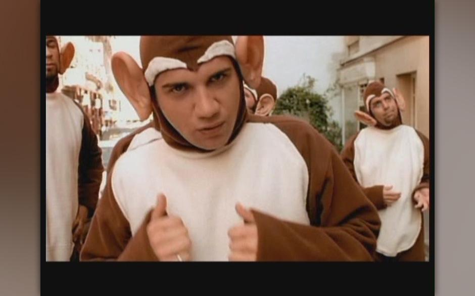 Die Bloodhound Gang machte Tierkostüme in ihrem Video 'The Bad Touch' berühmt.