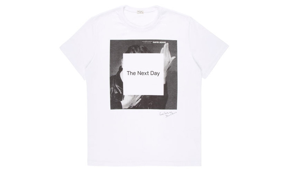 Das Paul-Smith-T-Shirt zu THE NEXT DAY