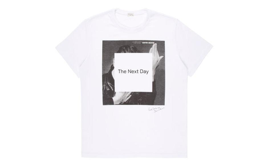 Das Paul-Smith-T-Shirt zu THE NEXT DAY
