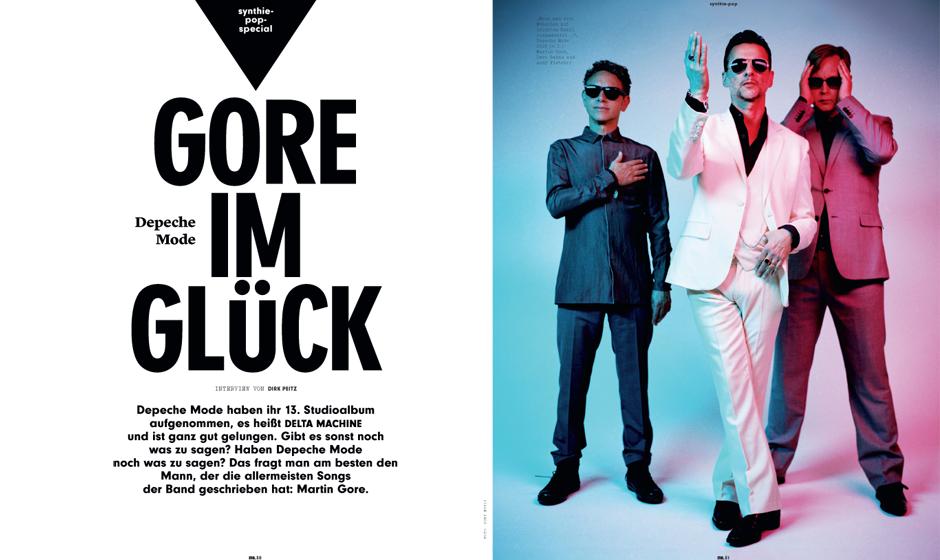 Depeche Mode haben ihr 13. STudioalbum aufgenommen, es heißt DELTA MACHINE und es ist ganz gut gelungen. Gibt es sonst noch