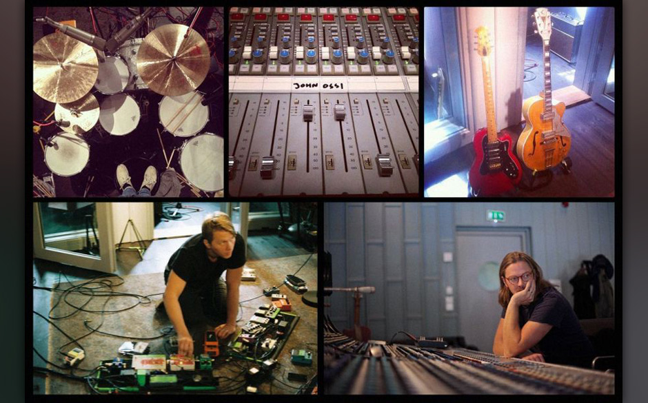Studioaufnahmen von John und Ossi