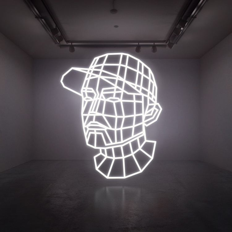 Doch nicht live auf dem Berlin Festival 2013: DJ Shadow (hier auf seinem Albumcover) hat seinen Auftritt abgesagt