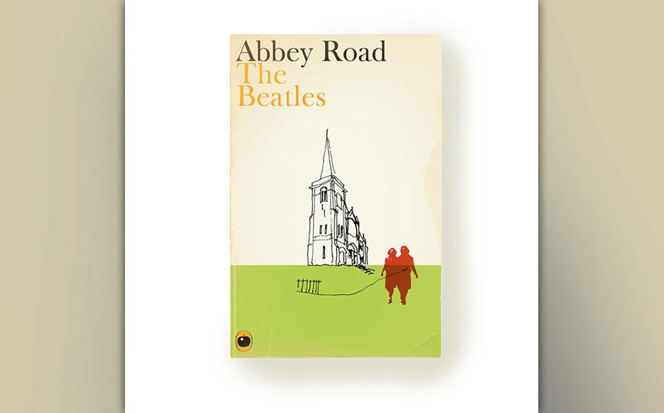 ABBEY ROAD Der britische Designkünstler Christophe Gowans hat aus legendären Albentiteln der Musikgeschichte Buchcover entw