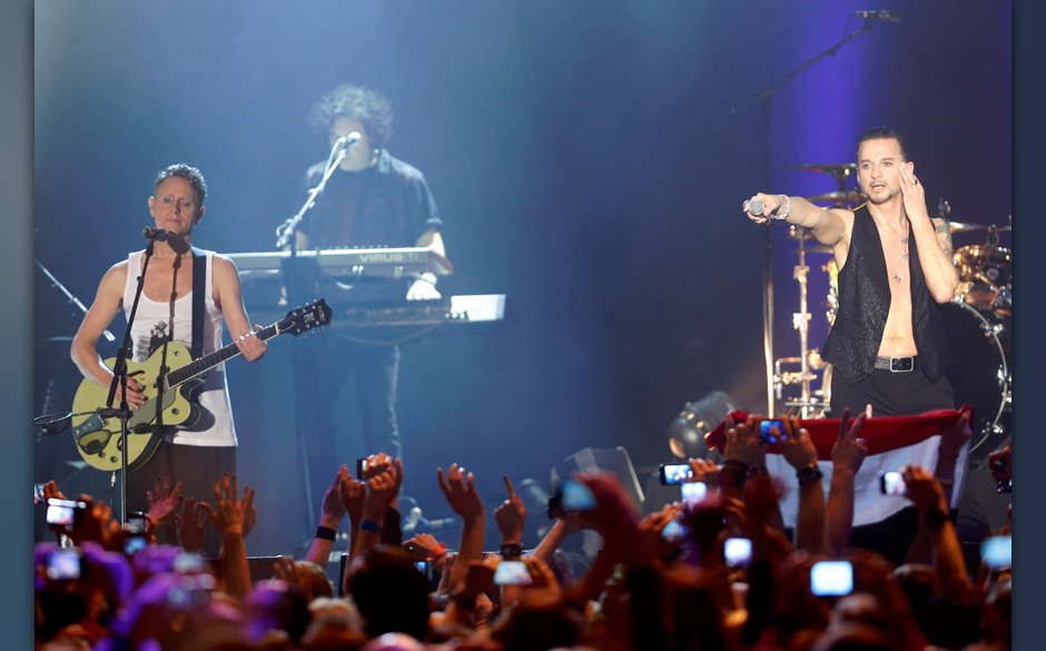 Depeche Mode live in WienFoto: Markus Nass fuer Electronic Beats by Telekom