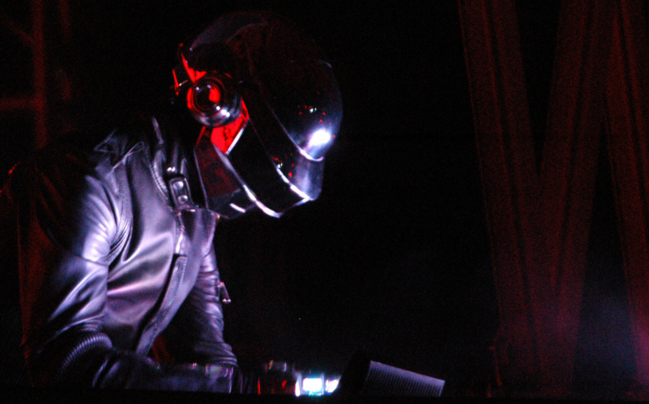 Daft Punk during 2006 Coachella Valley Music and Arts Festival - Day One at Empire Polo Field in Indio, California, United St