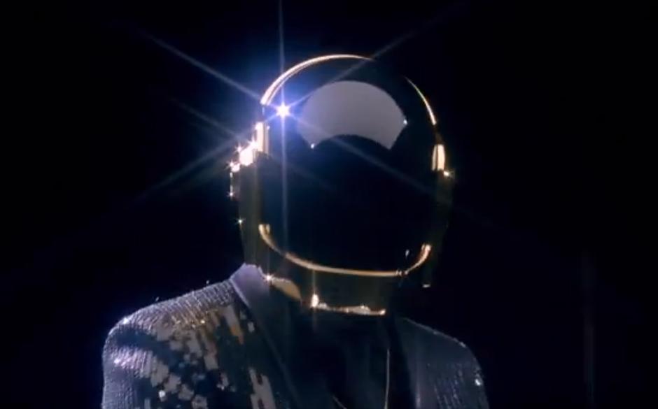 Videostill aus Daft Punks 'Get Lucky'-Trailer-Video