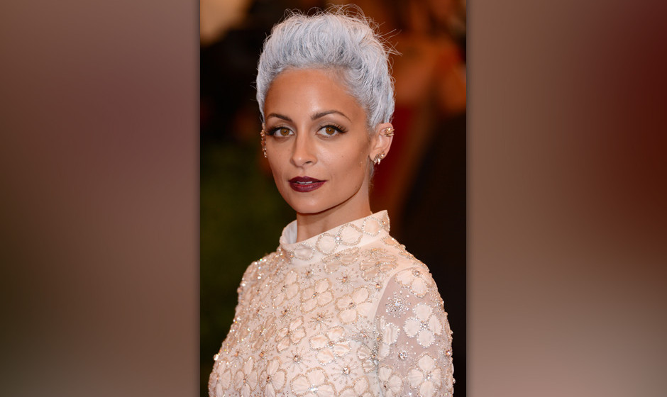 NEW YORK, NY - MAY 06:  Nicole Richie attends the Costume Institute Gala for the 'PUNK: Chaos to Couture' exhibition at the M