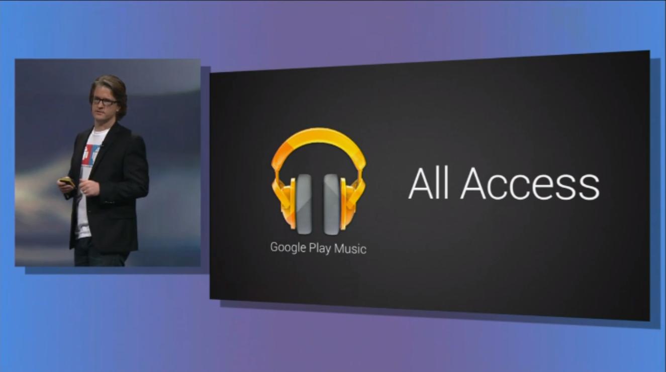 All Access von Google