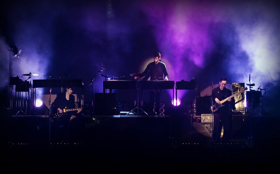 The xx live im Berliner Spreepark