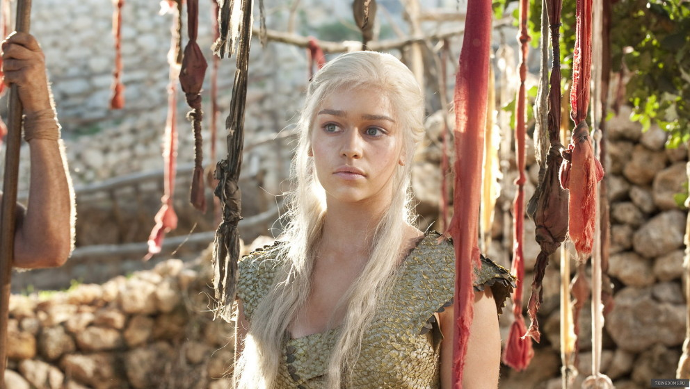 Emilia Clarke spielt Daenerys Targaryen in 'Game Of Thrones'