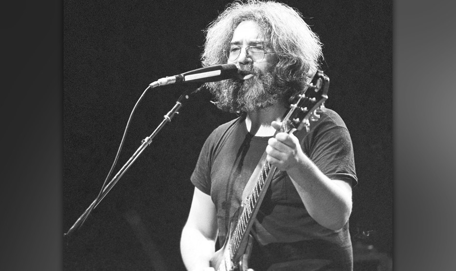 The Grateful Dead perform 12/04/1979 at the Uptown Theater, Chicago, Il, USA
