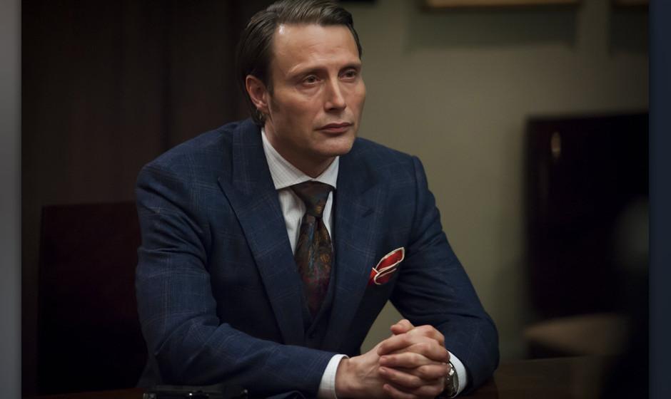 "Brilliant und wahnsinnig: Mads Mikkelsen als Dr. Hannibal Lecter in ""Hannibal""."