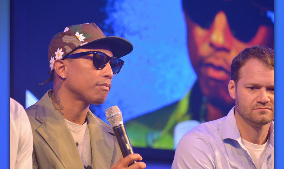 Pharrell Williams in Berlin