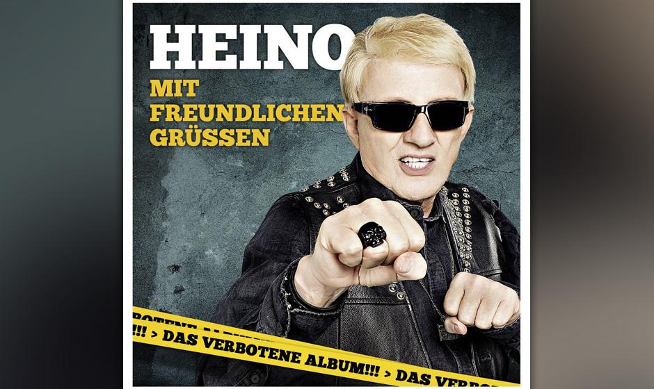 """Album - Platz 1: Schlager-Zausel Heino hängte alle ab: Sein Album """"Mit freundlichen Grüßen"""" ist das meist heruntergela"""