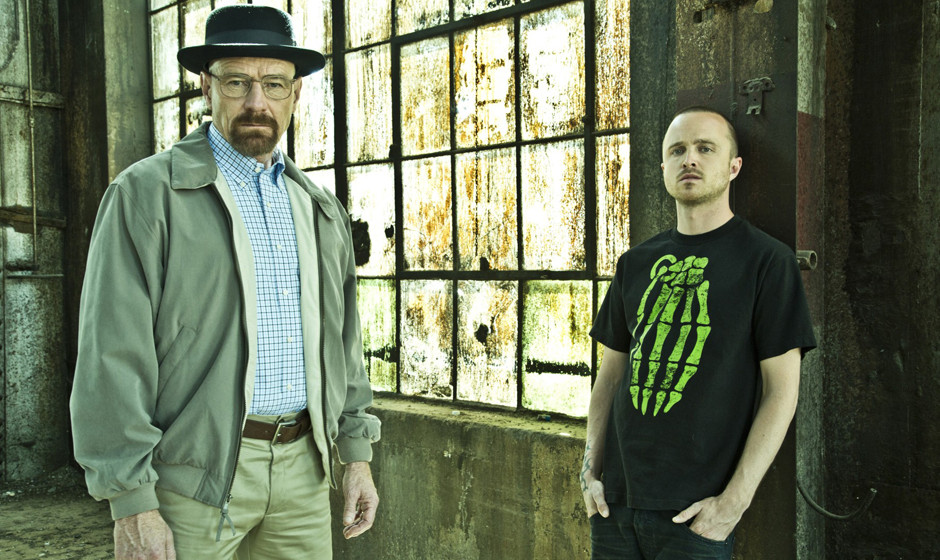 TEXT: Walter White (Bryan Cranston) and Jesse Pinkman (Aaron Paul)