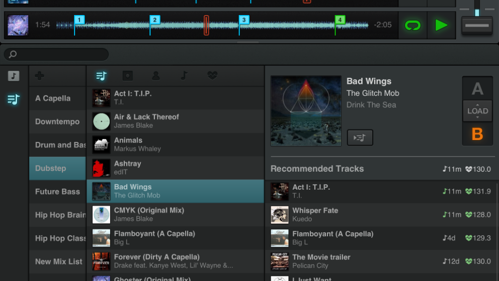 Traktor von Native Instruments als Browser-Version