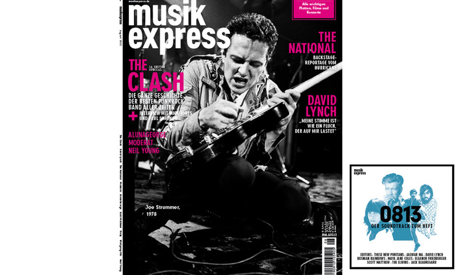 Der neue Musikexpress inklusive Soundtrack zum Heft. Ab dem 11. Juli im Handel.