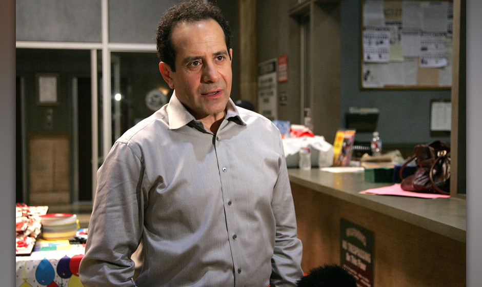 LOS ANGELES, CA - JULY 17:  Actor Tony Shalhoub attends the 100th Episode celebration of 'Monk' on the Paramount Lot on July