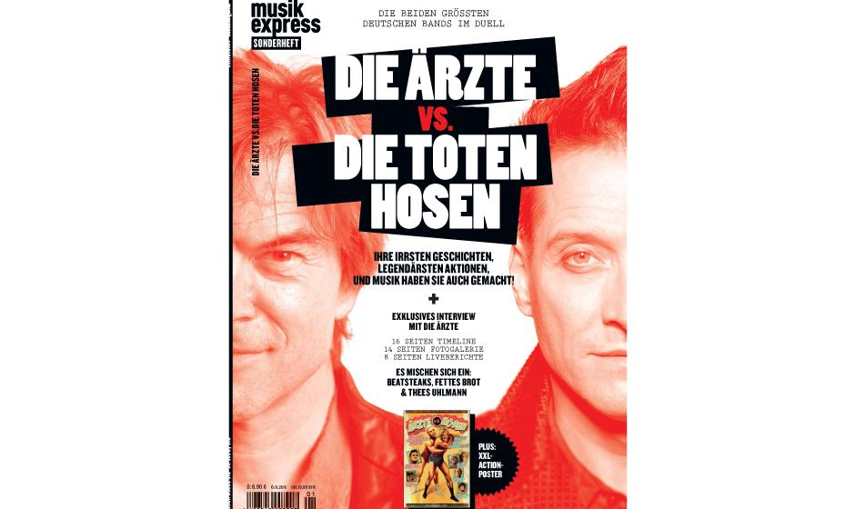 ME-Sonderheft: Die Ärzte vs. Die Toten Hosen - ab dem 25. Juli 2013 am Kiosk.