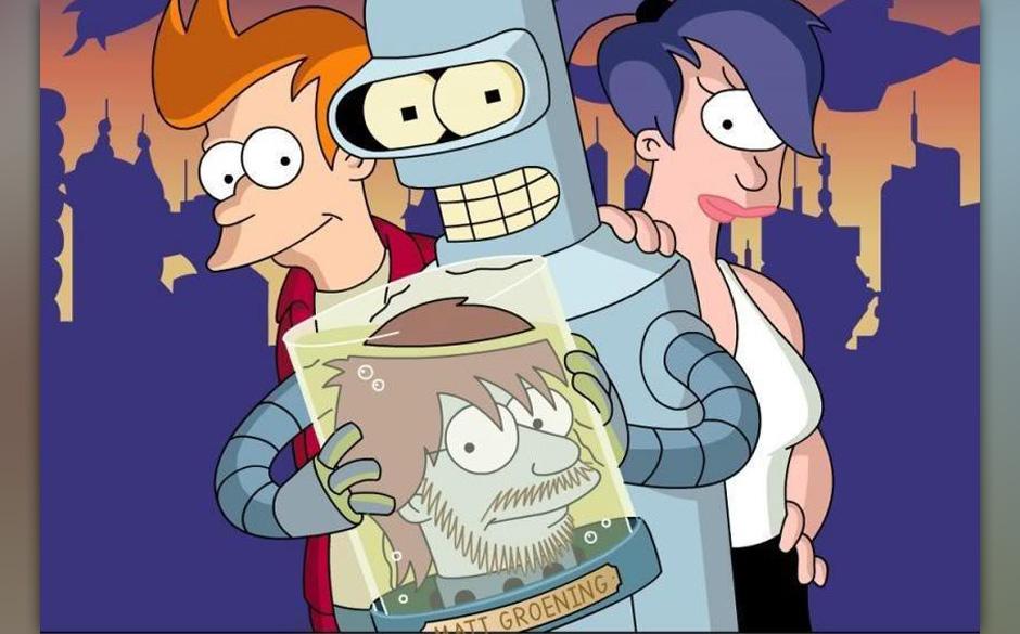 Nicht Matt Groenings Kopf ist in Gefahr, sondern der von Bart Simpson - und 'Futurama' selbst wohl auch.