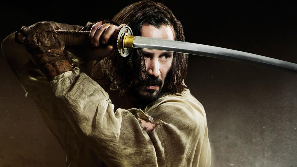 Keanu Reeves als Anführer einer Samurai-Gruppe