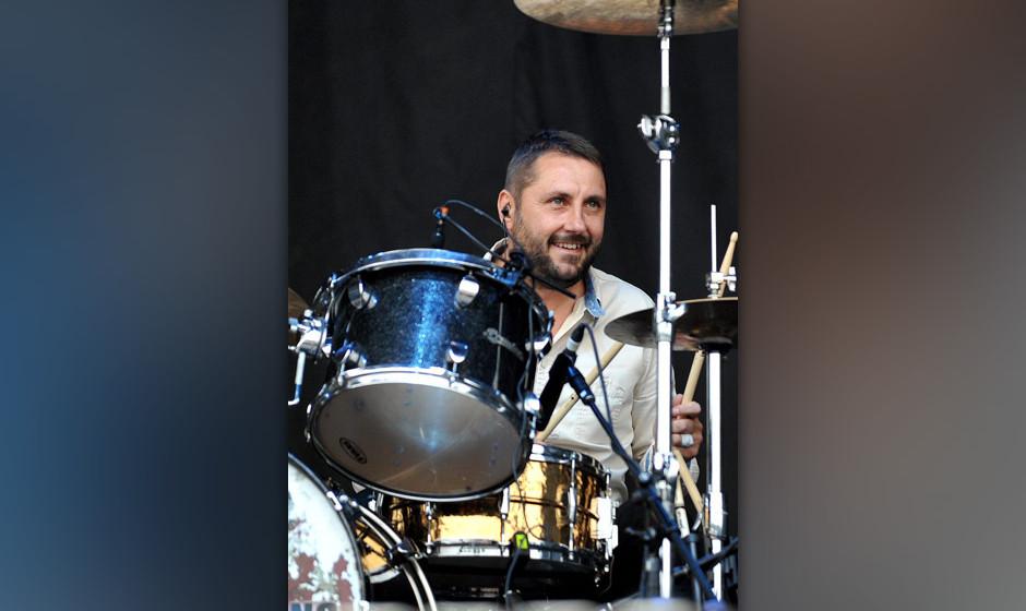 Starb am Dienstag mit 44 Jahren: Jon Brookes, Schlagzeuger von The Charlatans