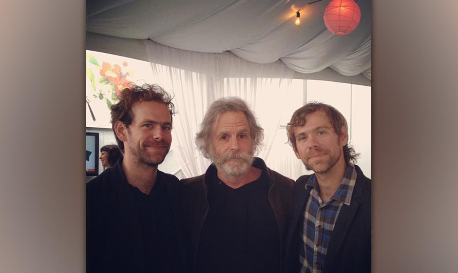 Die Dessner-Zwillinge von The National und Bob Weir