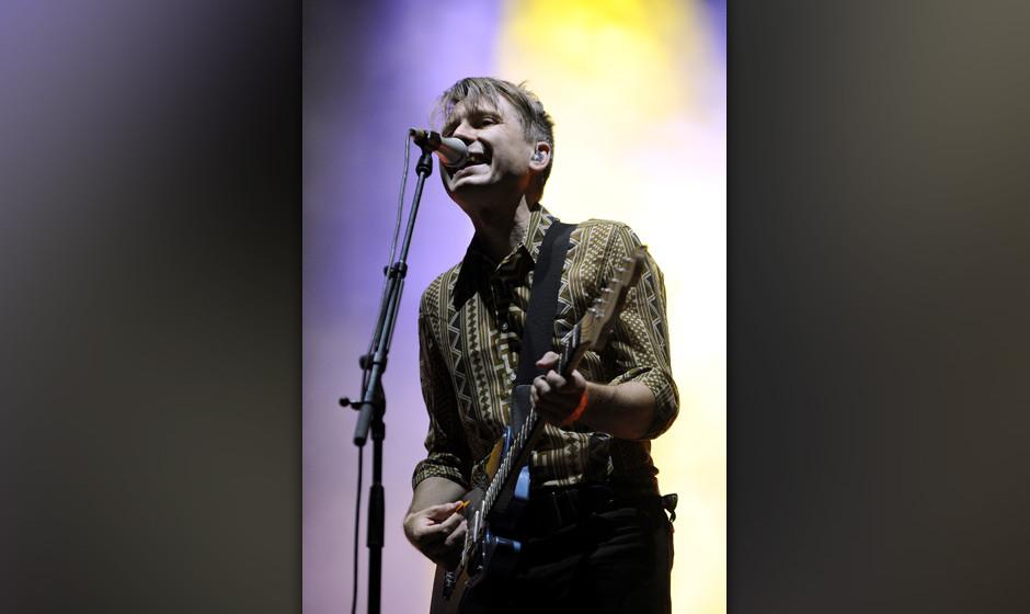 APA14165712 - 15082013 - ST. P÷LTEN - ÷STERREICH: S‰nger und Gitarrist Alex Kapranos von der Band 'Franz Ferdinand' w‰h