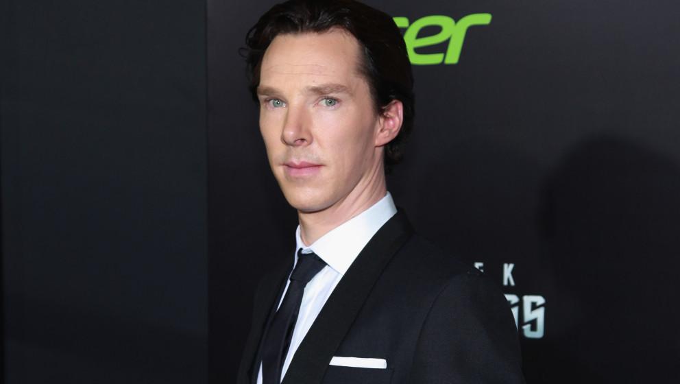"""Benedict Cumberbatch bei der Premiere von """"Star Trek Into Darkness"""" 2013 in New York City."""